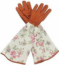 Rosa Handschuhe Baumsäge für Männer und Frauen.
