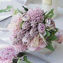 Rose Bouquet Künstliche Blume Hochzeit Zubehör