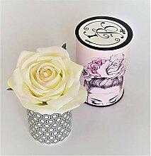 Rose de Boheme 801285 Künstliche Duftrose Natur,