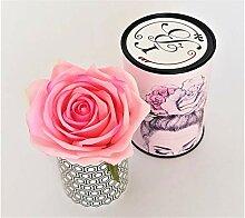 Rose de Boheme 801286 Künstliche Duftrose Natur,