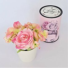 Rose de Boheme 801297 Künstliche Duftrose Natur,