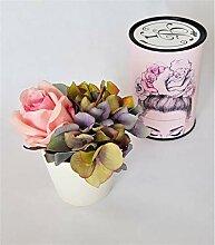 Rose de Boheme 801298 Künstliche Duftrose, Natur,