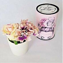 Rose de Boheme 801299 Künstliche Duftrose,