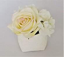 Rose de Boheme 801301 Künstliche Duftrose, Natur,