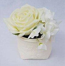 Rose de Boheme 801302 Künstliche DuftRose Natur,