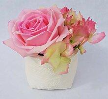 Rose de Boheme 801303 Künstliche Duftrose, Natur,