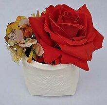Rose de Boheme 801305 Künstliche Duftrose, Natur,