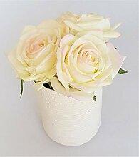 Rose de Boheme 801311 Künstliche Duftrose, Natur,