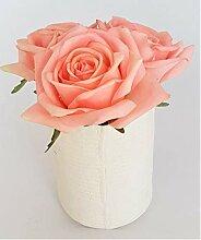 Rose de Boheme 801313 Künstliche Duftrose Natur,
