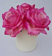 Rose de Boheme 801315 Künstliche Duftrose, Natur,