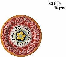 Rose e Tulipani Nador Wand r1330024ar Untertasse,