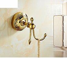 rose gold Bad-Accessoires/Haken/Gold-plated europäischen Haken/Kupfer-Metall Anhänger-Kit-K