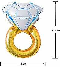 Rose Gold Confetti Bollons | 1 St. Große Hochzeit