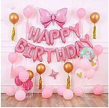 Rose Gold Hen Bollons | Mi Dekor Happy Birthday