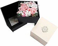 Rose Seifenblume Künstliche Blumenstrauß