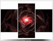 ROSE - TABLEAU IMPRIME MODERNE - DECORATION - DESIGN -
