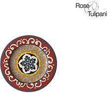 Rose und Tulpen r1330022vi R1330026RO Untertasse,