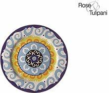 Rose und Tulpen r1330024bl Nador Untertasse,