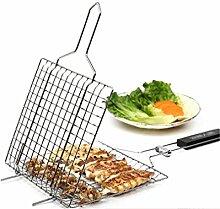 RoseFlower BBQ Steak Grillkorb Fischgriller