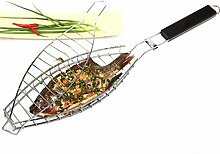 RoseFlower® BBQ Steak Grillkorb Fischgriller