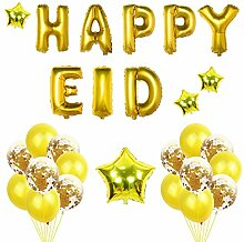 Rosegold Ballons Eid Muslim Ramadan Luftballons