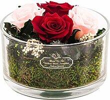 Rosen-Te-Amo Eleganter Blumenstrauß aus 4