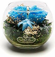 Rosen-Te-Amo Liebevoller Blumenstrauß aus 4 ewige