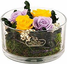 Rosen-Te-Amo Origineller Blumenstrauß aus 4