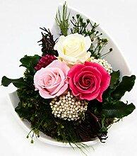 Rosen-Te-Amo Premium Blumenstrauß aus 3