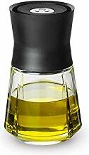 Rosendahl Dressing Shaker, Glas, Schwarz, 25 cl