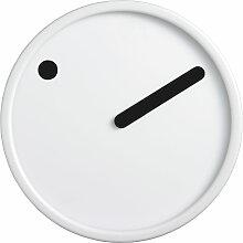 Rosendahl Timepieces - Picto Wanduhr, schwarz auf weiß