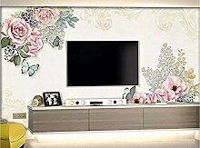 Rosengarten Fresken für Wände Wandbilder Tapete