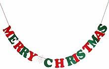 ROSENICE MERRY CHRISTMAS Wimpel Girlande