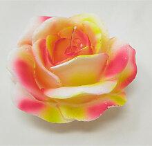 Rosenkerze weiß rosa D. 9cm Formano F21