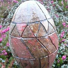 Rosenkugel Ton handgemacht Ø 13 cm Nr. 120