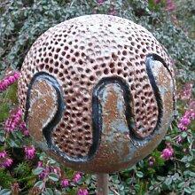 Rosenkugel Ton handgemacht Ø 13 cm Nr. 121