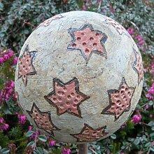 Rosenkugel Ton handgemacht Ø 14 cm Nr. 124