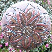 Rosenkugel Ton handgemacht Ø 15 cm Nr. 119