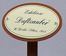 Rosenschild Emaille, Edelrose, Duftzauber,