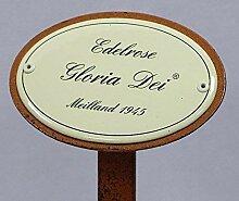 Rosenschild, Rosenstecker Emaille, Edelrose: