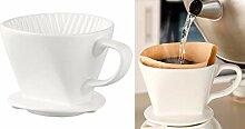 Rosenstein & Söhne Kaffee-Filtertütenhalter: