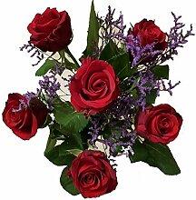 Rosenstrauß - Rote Rosen versenden - Rosen zum