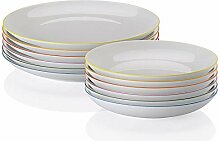 Rosenthal Arzberg - Cucina-Basic Speiseset Colori