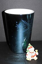 Rosenthal Solitaire Snowflake Blue Uni - Becher