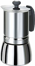 Rossetto – Edelstahl-Espressokocher mit Griff