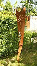 Rost Garten Gartendeko Rost Stecker Rostsäulen