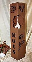 Rost Säule RS118 Rostsäulen Säulen Garten Deko Blumensäule keine Versandkosten