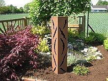 Rost Säule RS33 kostenloser Versand /Gartensäulen Blumensäule Fackel Gartendeko …