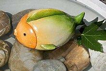 Rostalgie Keramik Tierfiguren für Gartenteich