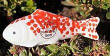 Rostalgie Porzellan Miniatur Fische schwimmend 3